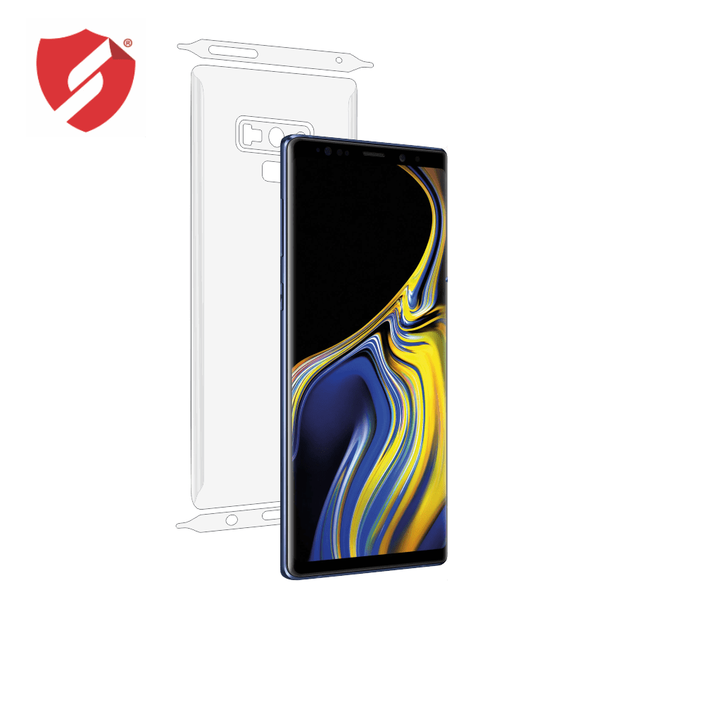 Folie de protectie Smart Protection Samsung Galaxy Note 9 - doar-spate+laterale imagine