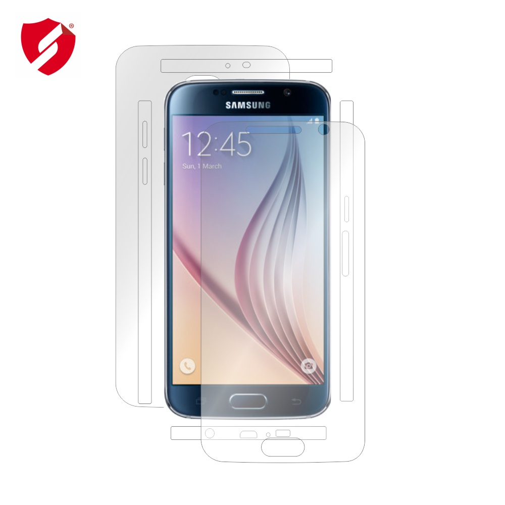 Folie de protectie Smart Protection Samsung Galaxy S6 - fullbody - display + spate + laterale imagine