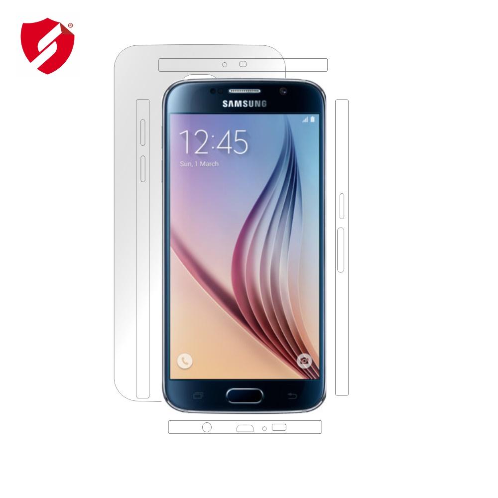 Folie de protectie Smart Protection Samsung Galaxy S6 - doar-spate+laterale imagine