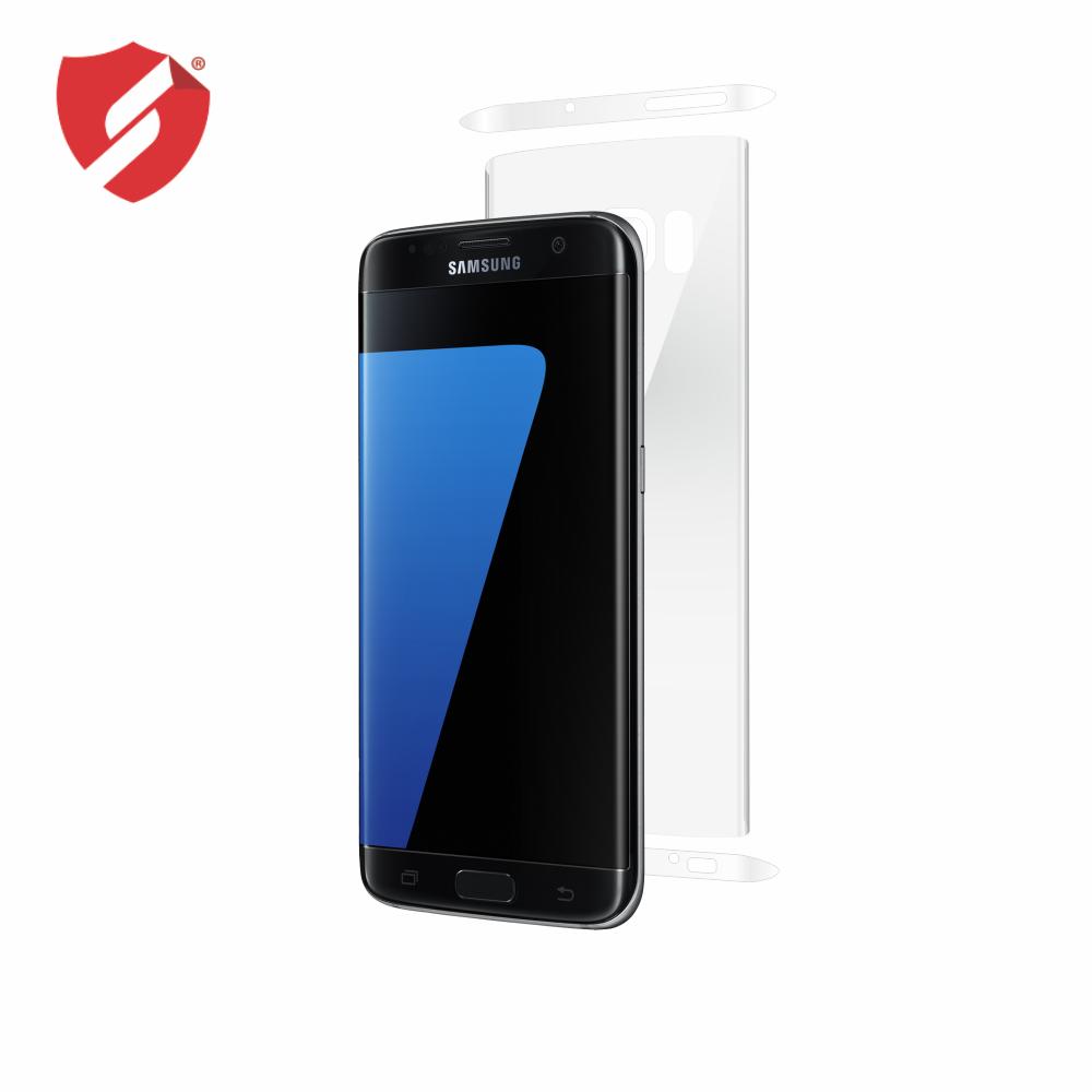 Folie de protectie Smart Protection Samsung Galaxy S7 Edge compatibila cu carcasa S View Cover - doar spate imagine