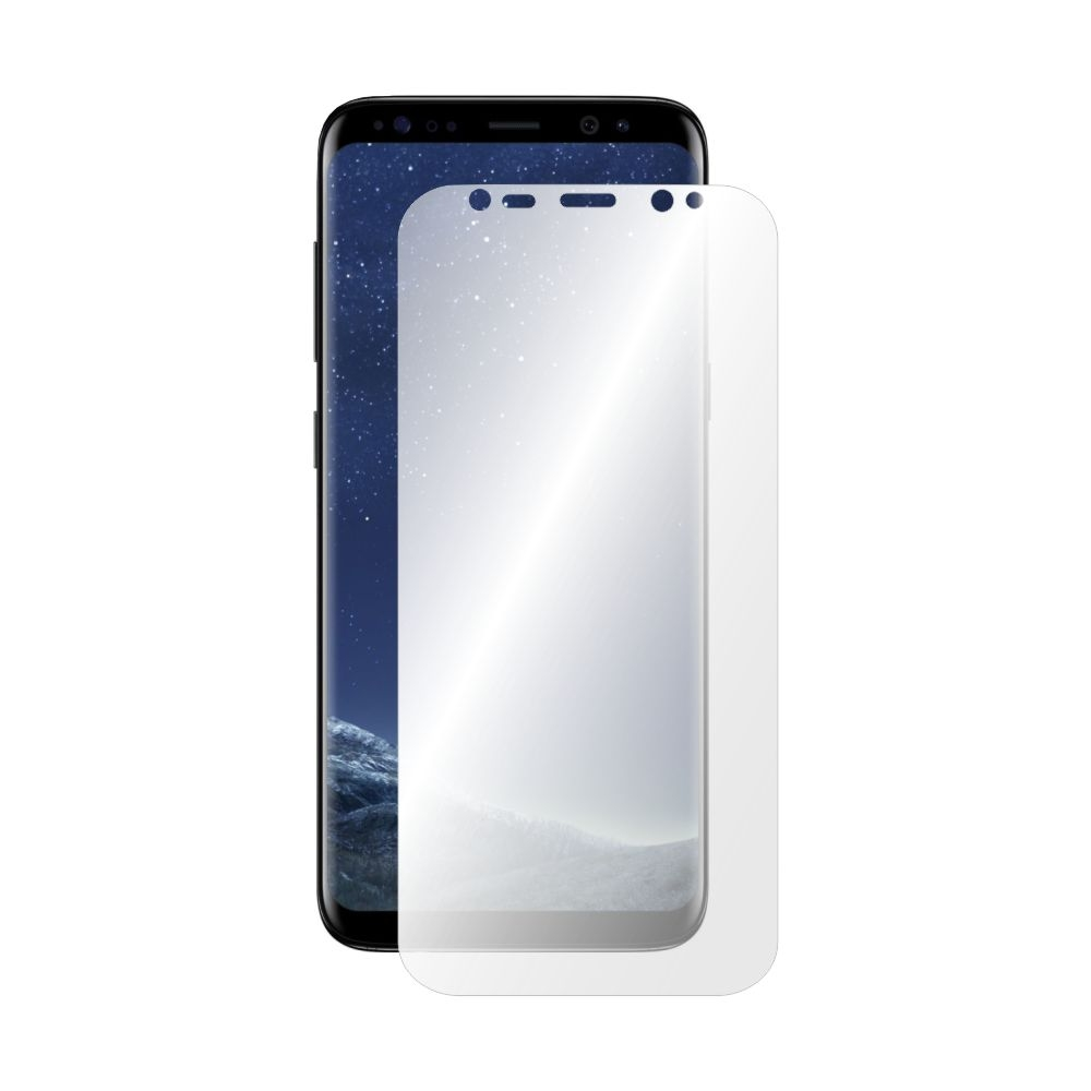 Folie de protectie Smart Protection Samsung Galaxy S8 compatibila cu carcasa Silicone Cover - doar-display imagine