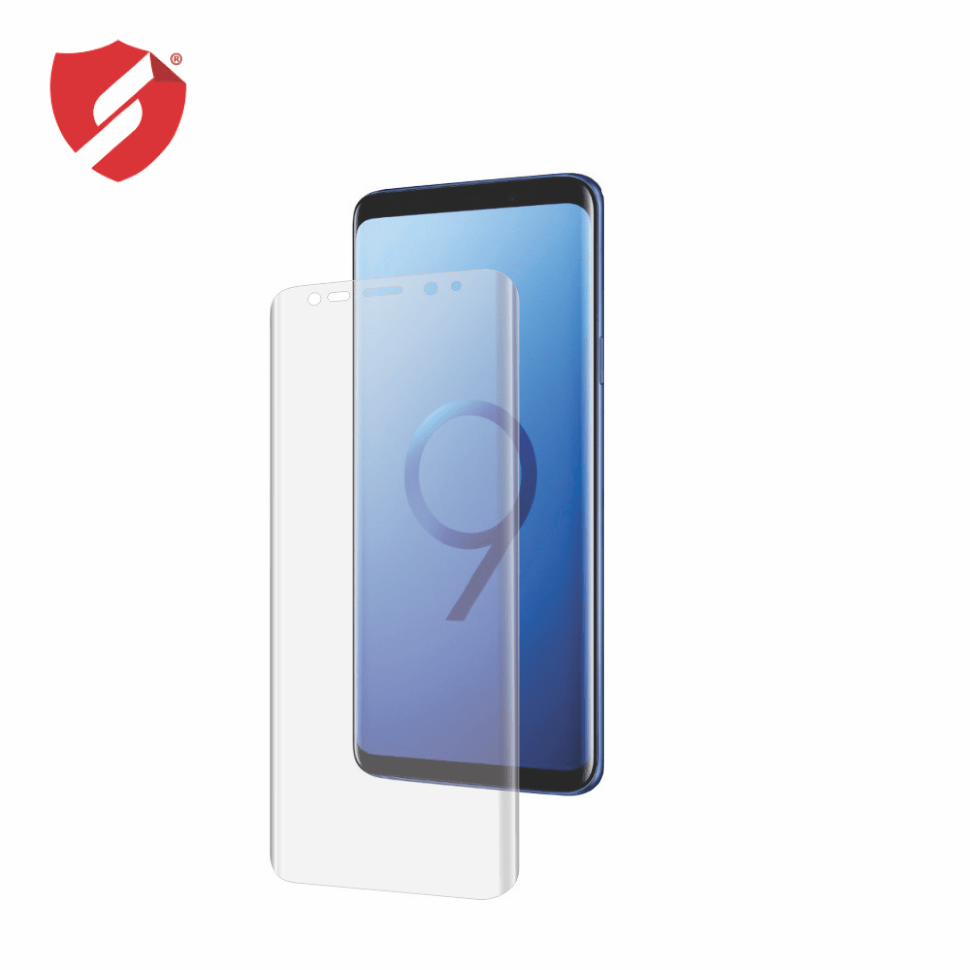 Folie de protectie Smart Protection Samsung Galaxy S9 compatibila cu carcasa VRS Design - doar-display imagine