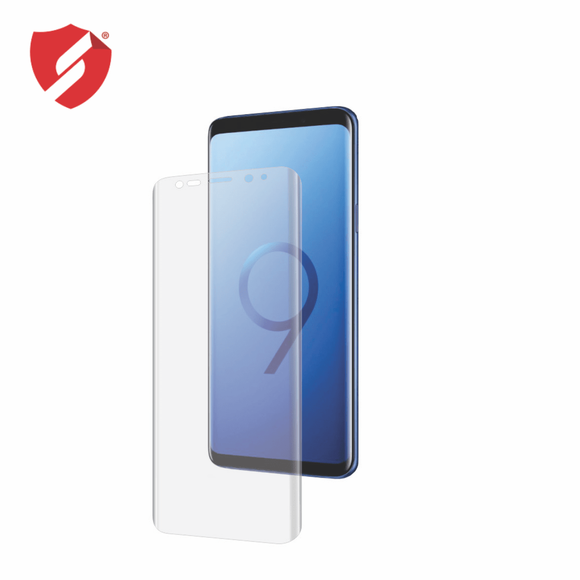 Folie de protectie Smart Protection Samsung Galaxy S9 Plus compatibila cu carcasa Spigen Rugged Armor - doar-display imagine
