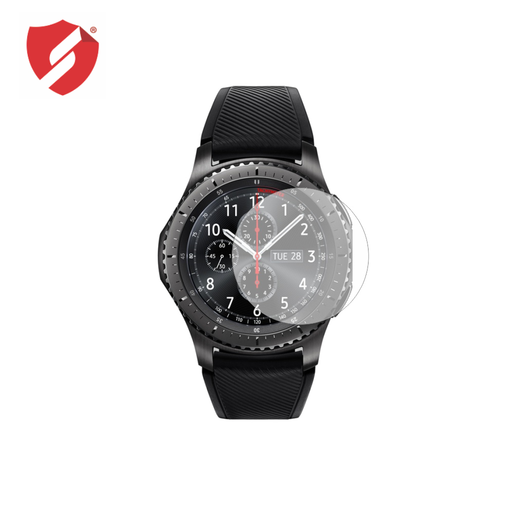 Folie de protectie Smart Protection Smartwatch Samsung Gear S3 Frontier - 2buc x folie display imagine