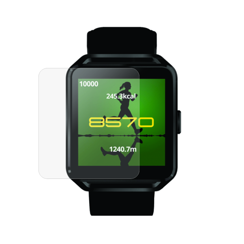 Folie de protectie Smart Protection Smartwatch Evolio X Watch 3 - 2buc x folie display imagine