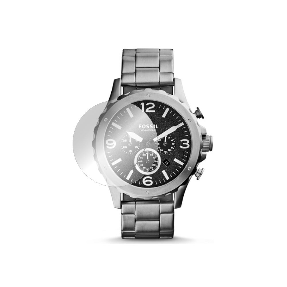Folie de protectie Smart Protection Smartwatch Fossil Nate JR1468 - 4buc x folie display imagine