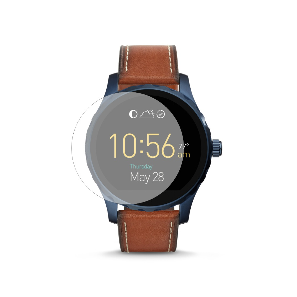 Folie de protectie Smart Protection Smartwatch Fossil Q Marshal Gen 2 - 4buc x folie display imagine