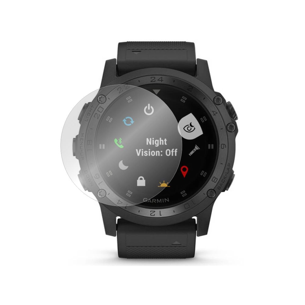 Folie de protectie Smart Protection Smartwatch Garmin Tactix Charlie - 2buc x folie display imagine