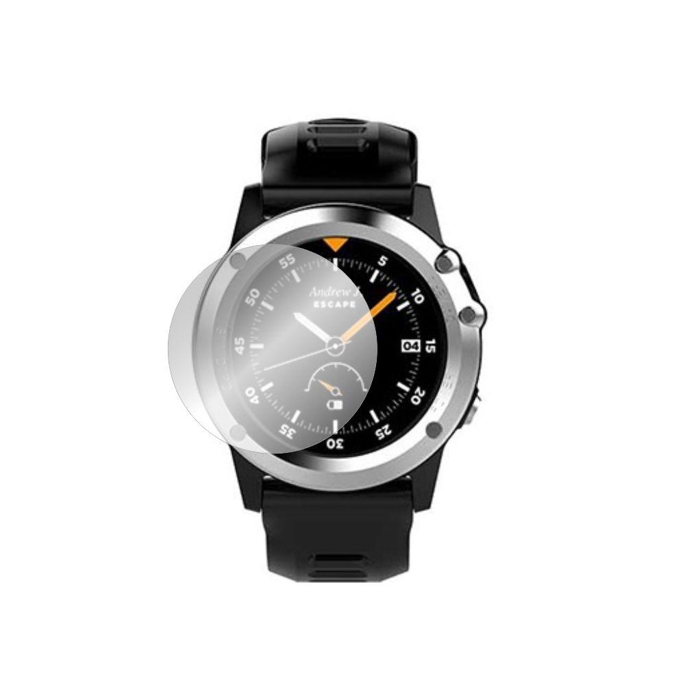 Folie de protectie Smart Protection Smartwatch Microwear H1 - 4buc x folie display imagine