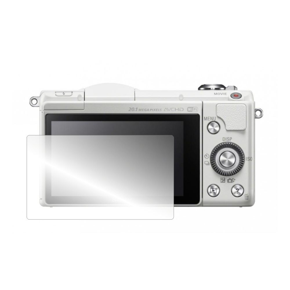Folie de protectie Smart Protection Mirrorless Sony Alpha α6000YB - 2buc x folie display imagine