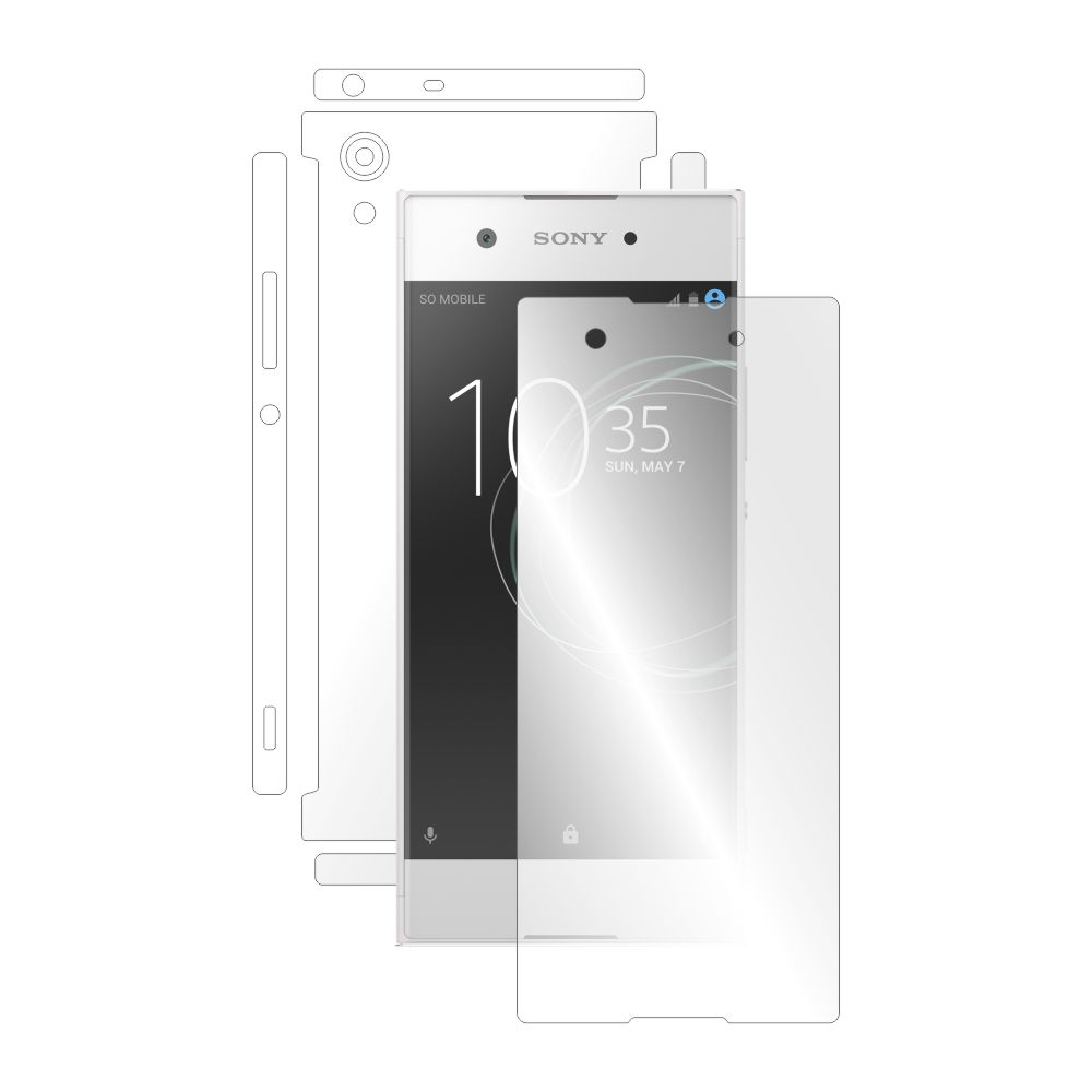 Folie de protectie Smart Protection Sony Xperia XA1 - fullbody - display + spate + laterale imagine