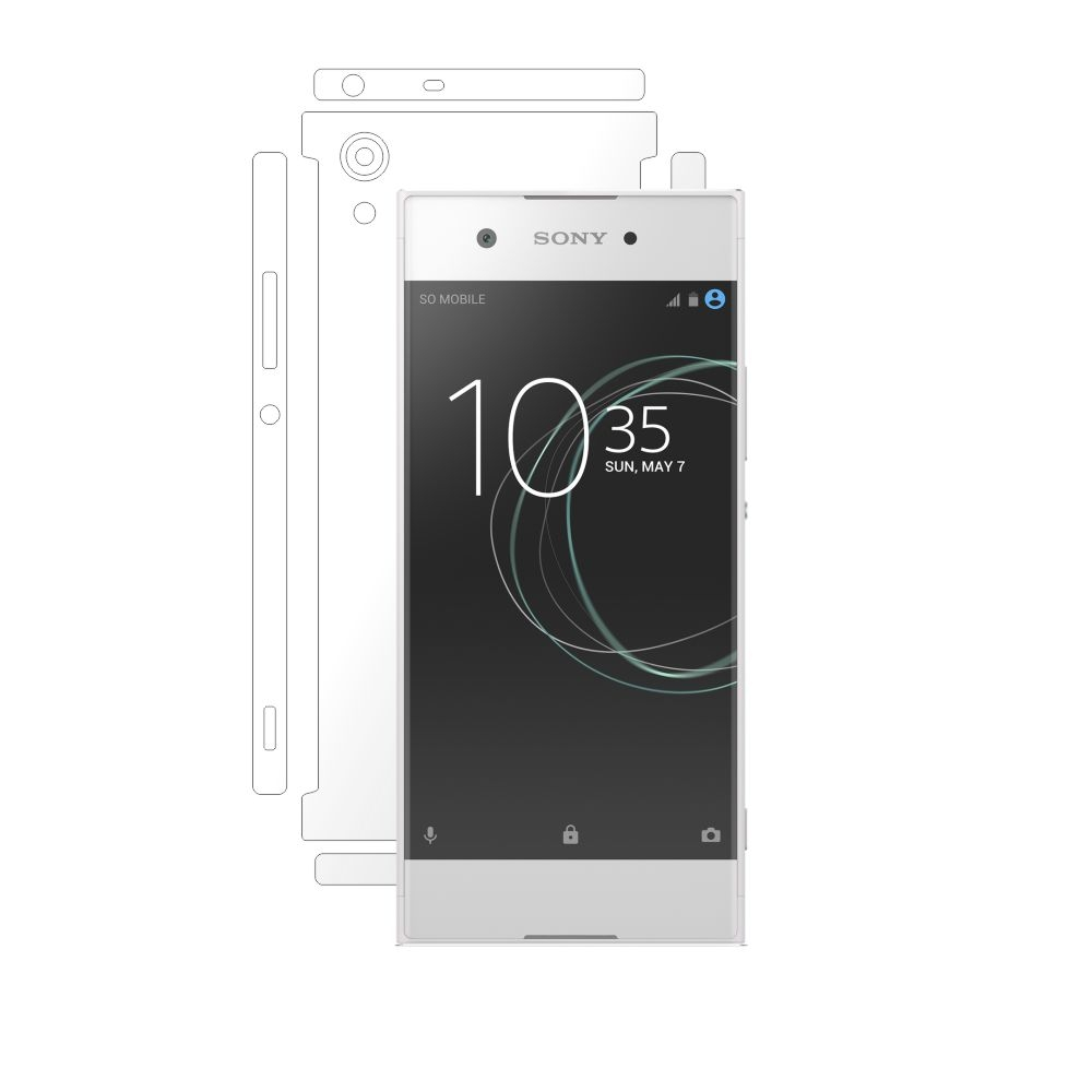 Folie de protectie Smart Protection Sony Xperia XA1 - doar-spate+laterale imagine