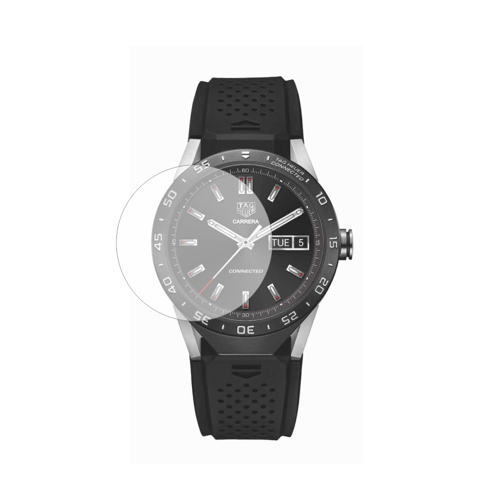 Folie de protectie Smart Protection Smartwatch Tag Heuer Connected - 2buc x folie display imagine