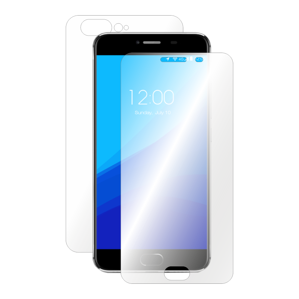 Folie de protectie Smart Protection UMI Z - fullbody-display-si-spate imagine