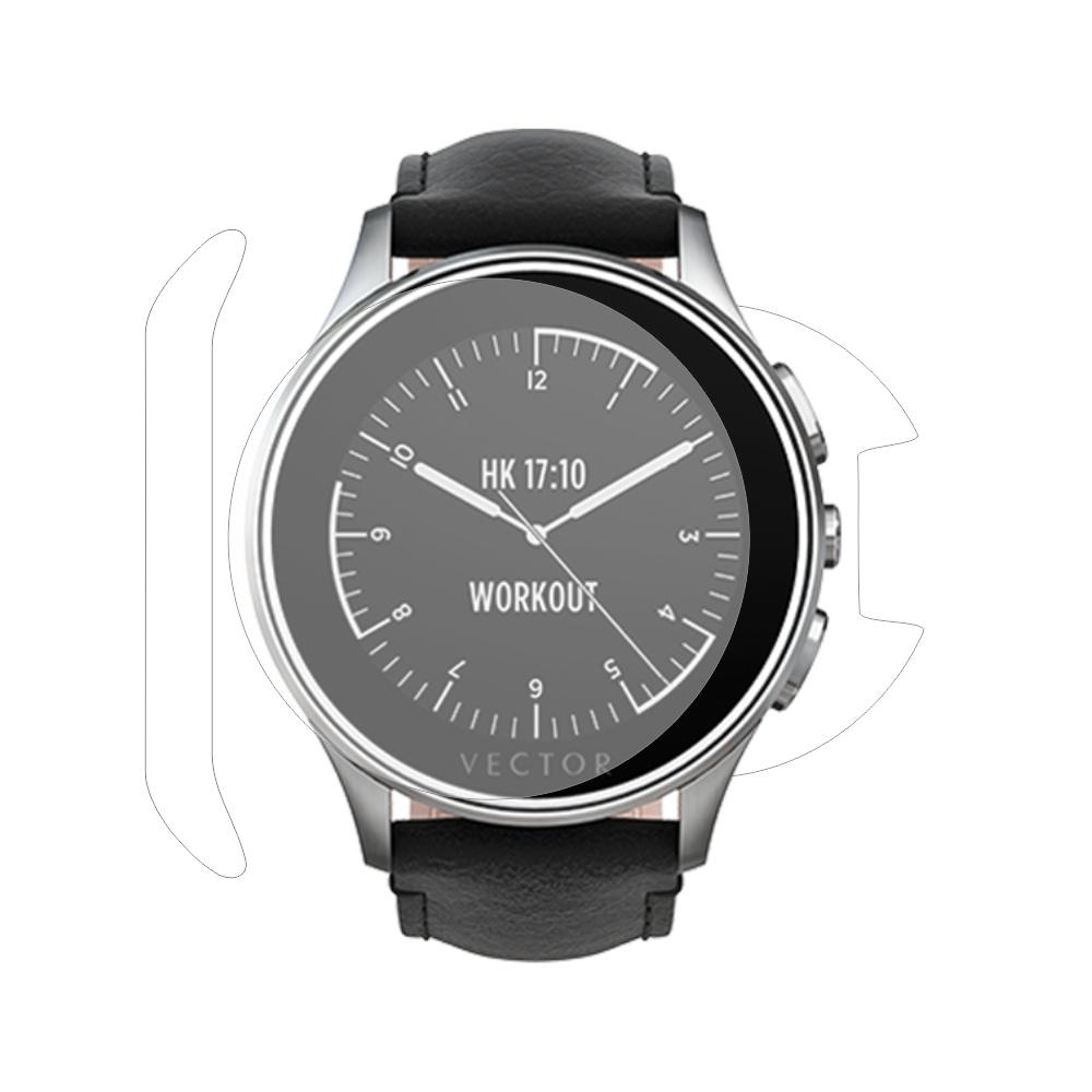 Folie de protectie Smart Protection Smartwatch Vector Luna - fullbody - display + spate + laterale imagine