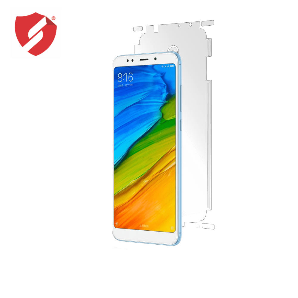 Folie de protectie Smart Protection Xiaomi Redmi 5 - doar-spate+laterale imagine