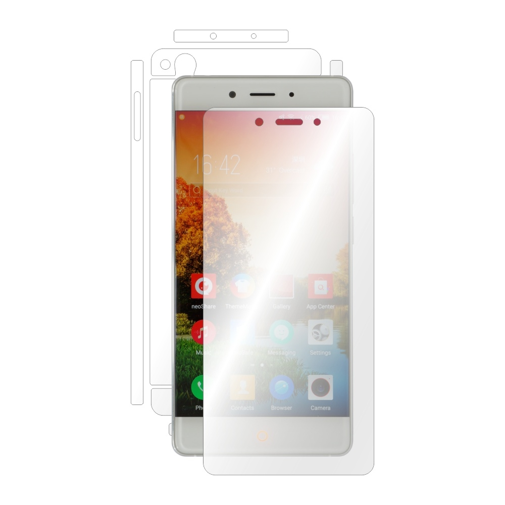 Folie de protectie Smart Protection ZTE Nubia Z11 - fullbody - display + spate + laterale imagine