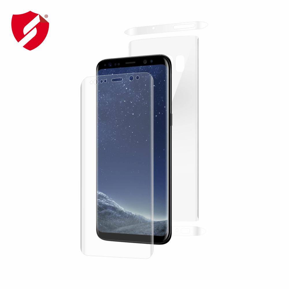 Folie de protectie Smart Protection Samsung Galaxy S8 compatibila cu carcasa Flip Cover - fullbody - display + spate + laterale imagine