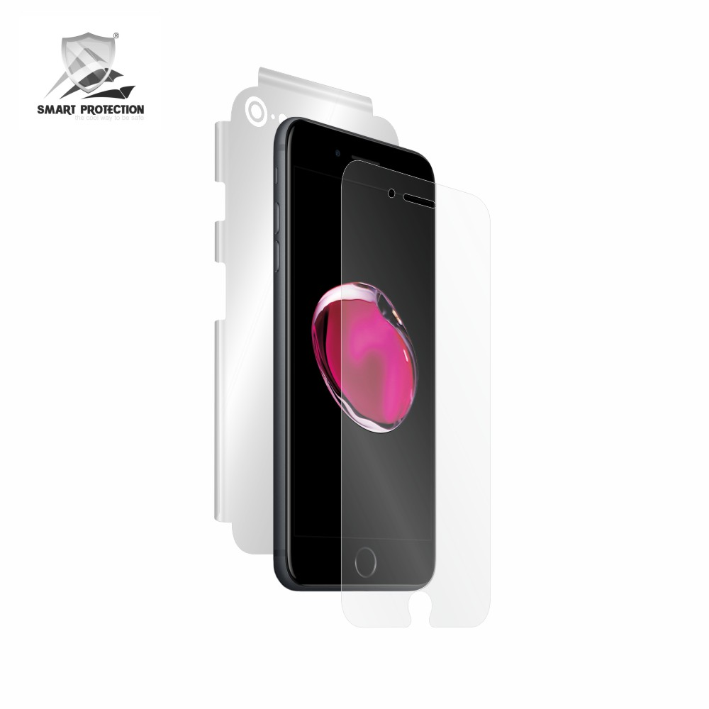 Tempered Glass - Ultra Smart Protection Iphone 7 Fulldisplay negru - Ultra Smart Protection Display + Clasic Smart Protection spate + laterale imagine