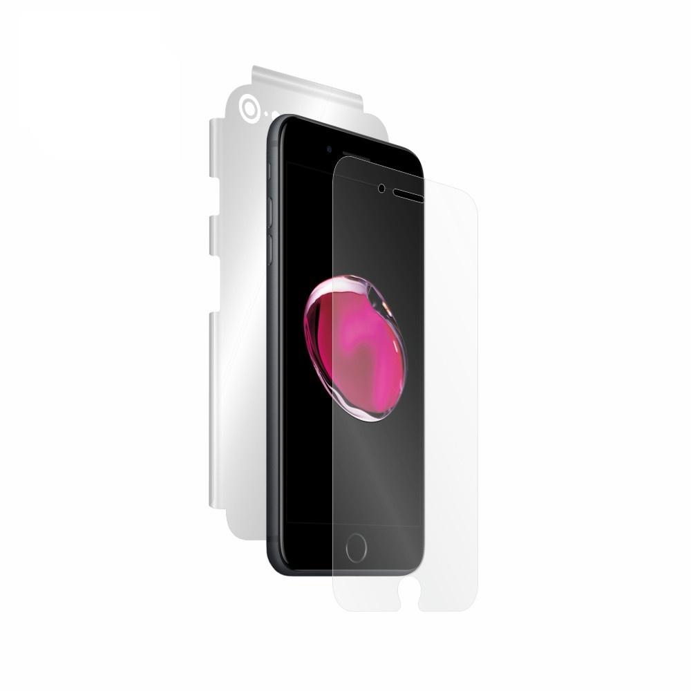 Folie de protectie Smart Protection iPhone 7 Plus compatibila cu Leather Case - fullbody - display + spate + laterale imagine