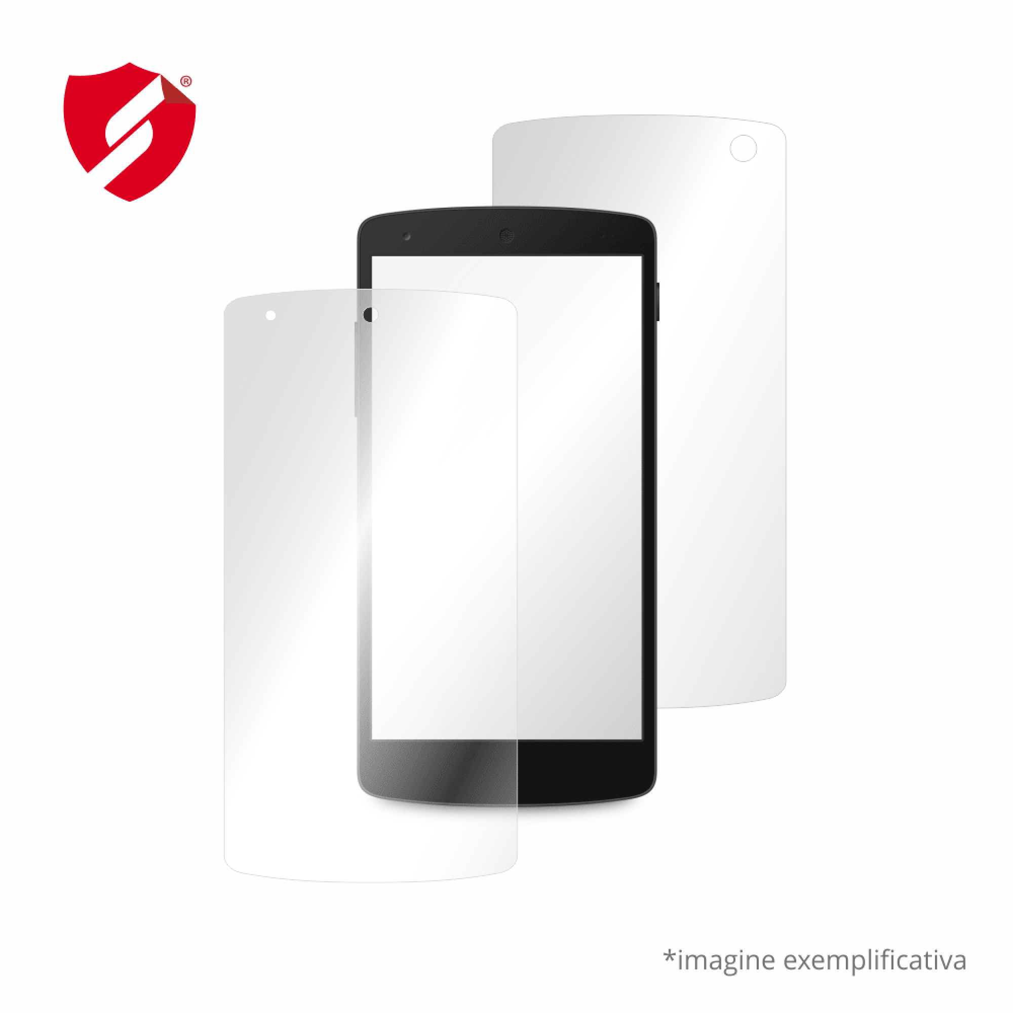 Folie de protectie Smart Protection Energizer Energy Plus S550 - fullbody-display-si-spate imagine