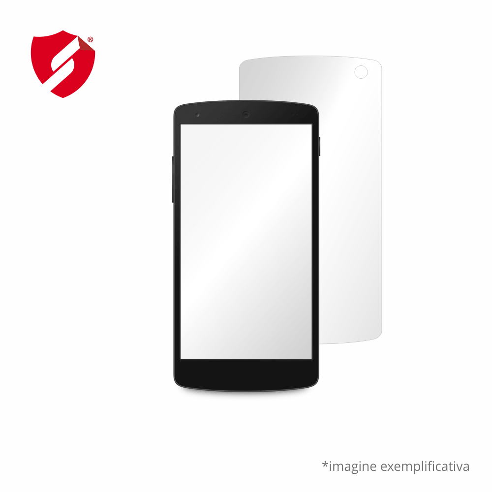 Folie de protectie Smart Protection Alcatel OT-985 - doar spate imagine