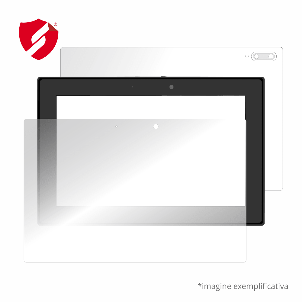 Folie de protectie Smart Protection Huawei MediaPad Lite 7 - fullbody-display-si-spate imagine