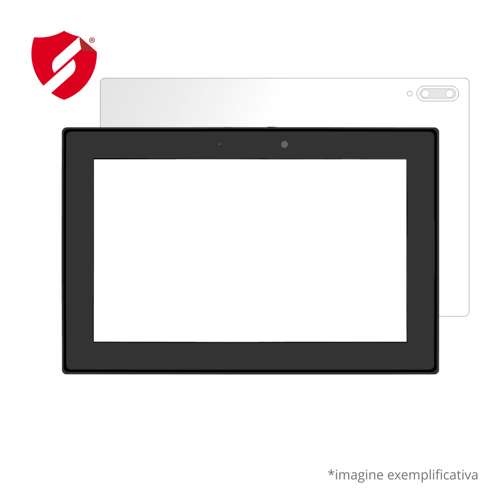 Folie de protectie Smart Protection Laptop Toshiba C70 - doar spate imagine