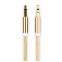 Cablu audio smart cu mufa jack 3.5 mm pentru Aux Rose Gold