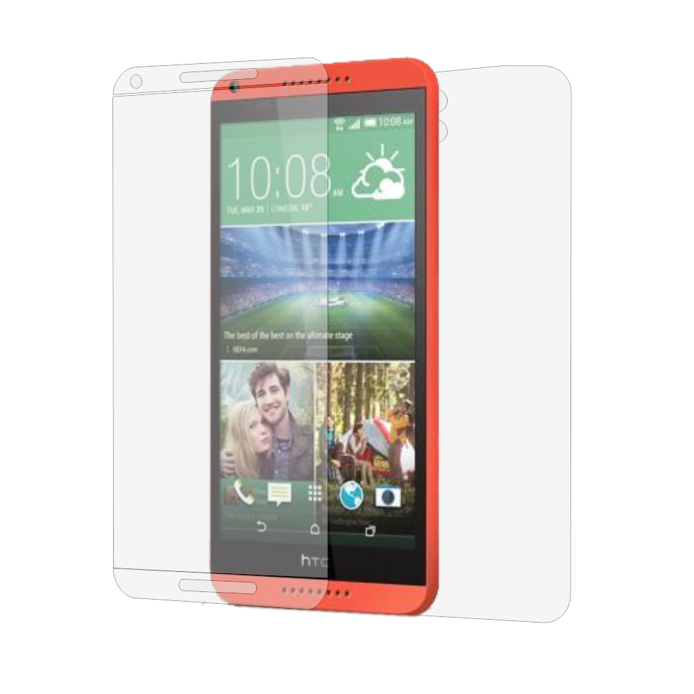 Folie de protectie Smart Protection HTC Desire 816 - fullbody-display-si-spate imagine