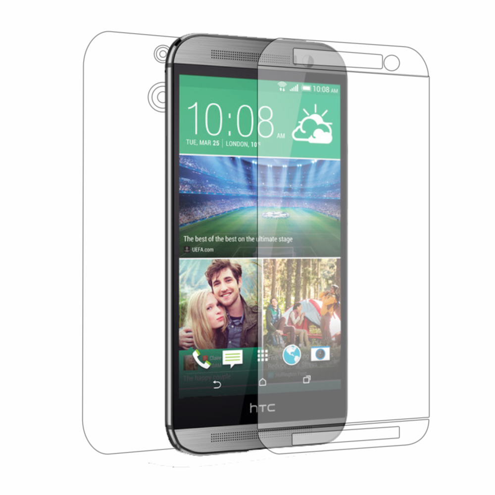 Folie de protectie Smart Protection HTC One M8 - fullbody - display + spate + laterale imagine