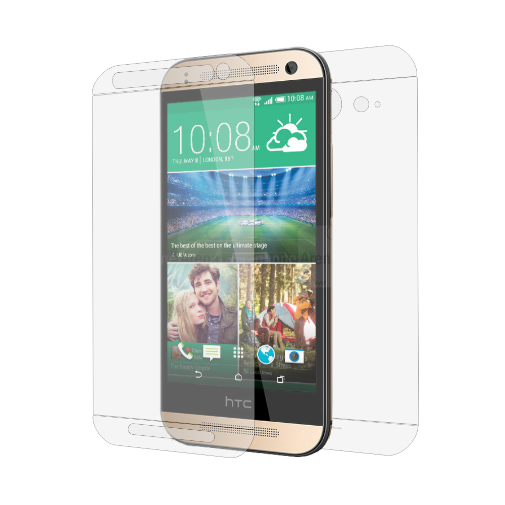 Folie de protectie Smart Protection HTC One Mini 2 - fullbody-display-si-spate imagine