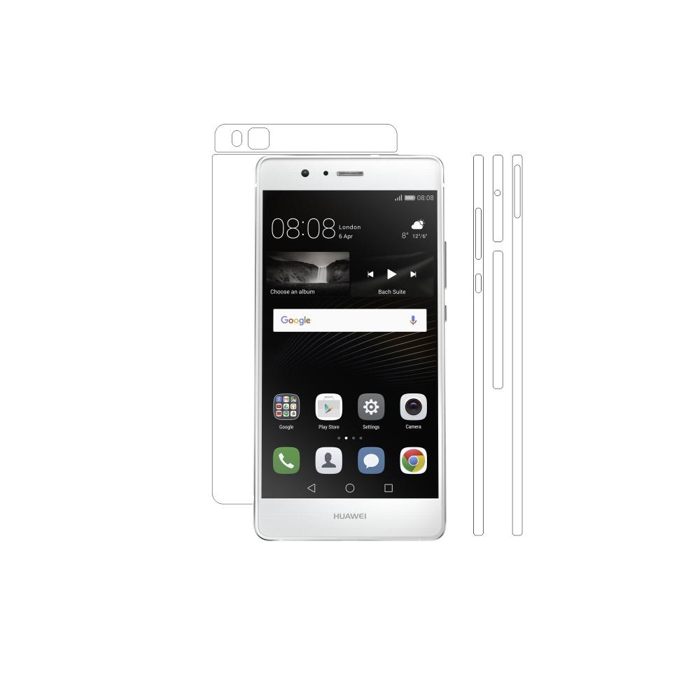 Folie de protectie Smart Protection Huawei P9 Lite - doar-spate+laterale imagine