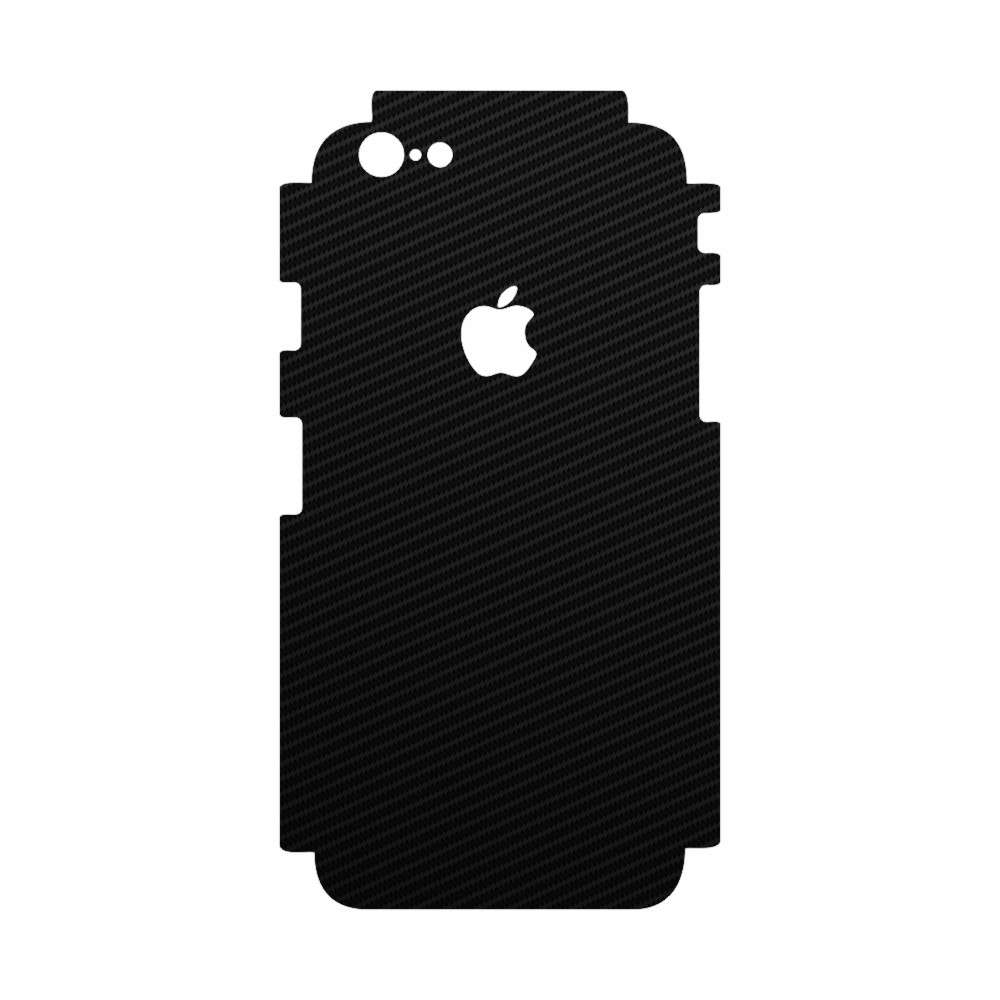 Skin Wrap Color Smart Protection iPhone 6 spate si laterale - Carbon Negru imagine