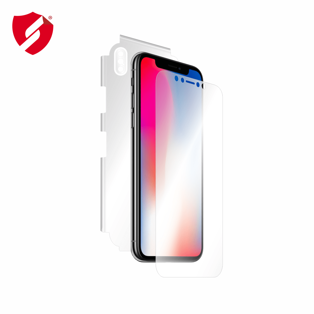 Folie de protectie Smart Protection Apple iPhone X - fullbody - display + spate + laterale imagine