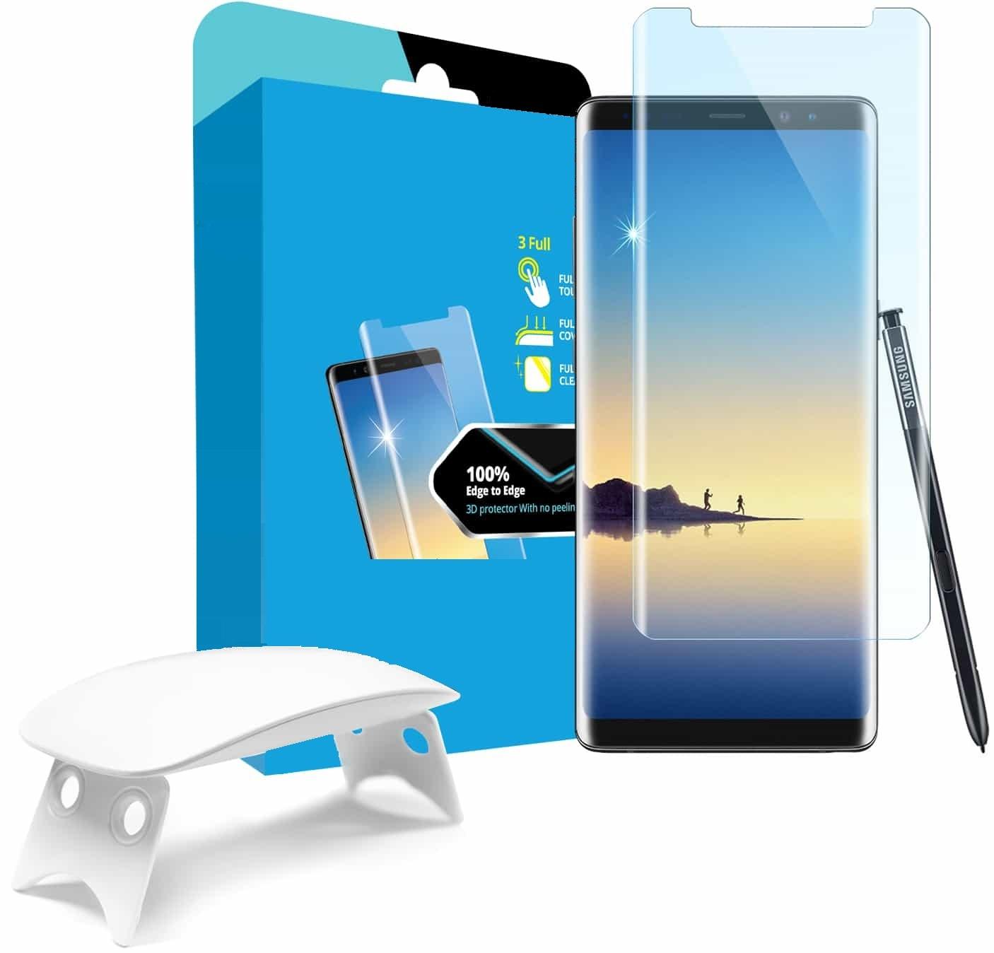 Tempered Glass - Ultra Smart Protection Liquid Loca Samsung Galaxy Note 8 imagine