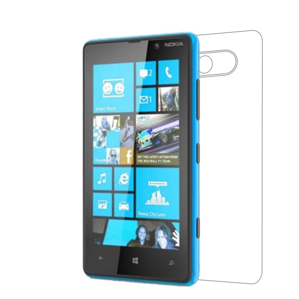 Folie de protectie Smart Protection Nokia Lumia 820 - doar spate imagine