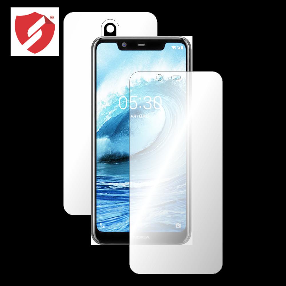 Folie de protectie Smart Protection Nokia 5.1 Plus (X5) - fullbody-display-si-spate imagine