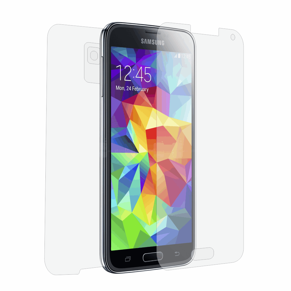 Folie de protectie Smart Protection Samsung Galaxy S5 - fullbody-display-si-spate imagine