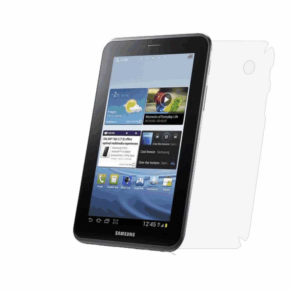 Folie de protectie Smart Protection Samsung Tab 2 7.0 P3110 - doar spate imagine