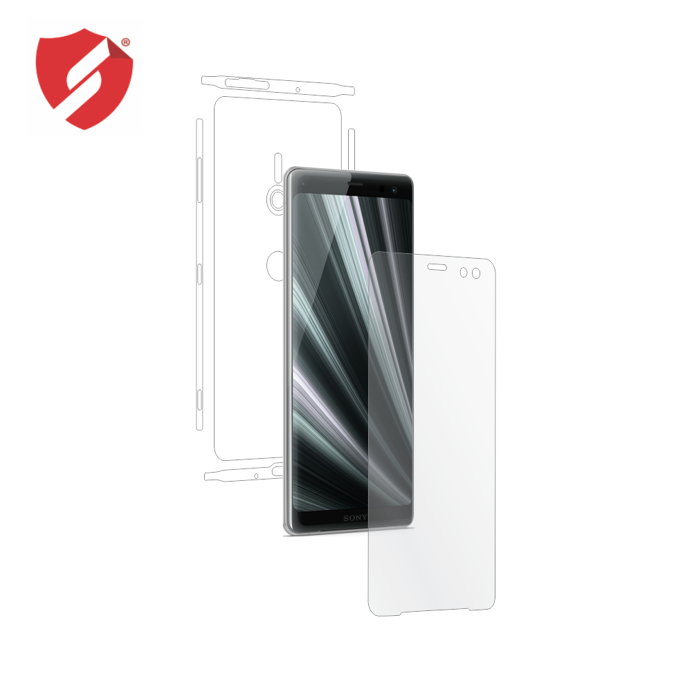 Folie de protectie Smart Protection Sony Xperia XZ3 - fullbody - display + spate + laterale imagine