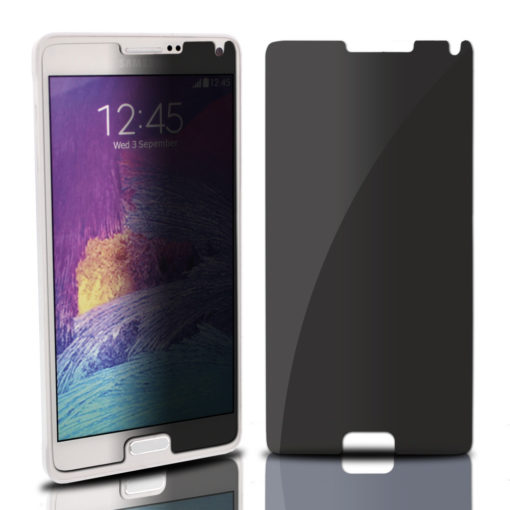 privacy tempered glass samsung galaxy note 4