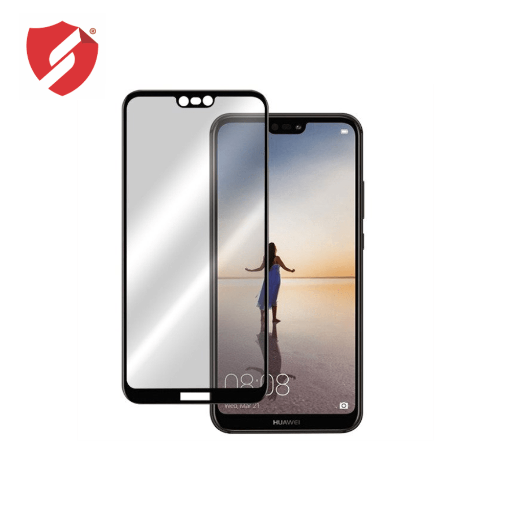 Tempered Glass - Ultra Smart Protection Huawei P20 lite fulldisplay negru - Ultra Smart Protection Display + Clasic Smart Protection spate + laterale imagine