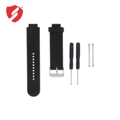 Curea neagra din silicon compatibila cu smartwatch Garmin Forerunner 230/235/630