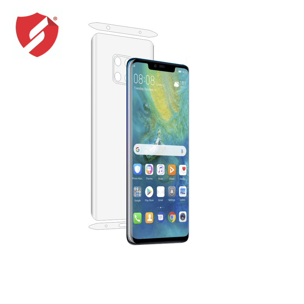 Folie de protectie Smart Protection Huawei Mate 20 Pro - doar-spate+laterale imagine