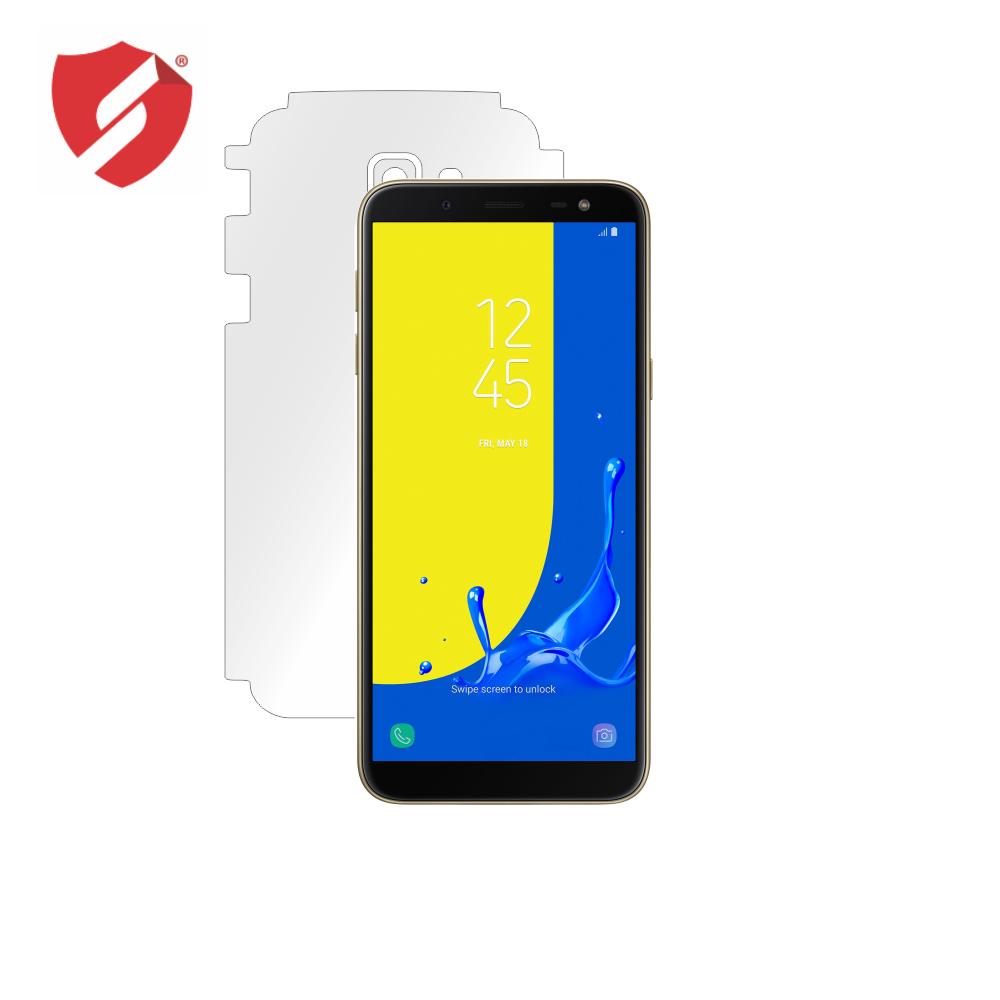 Folie de protectie Smart Protection Samsung Galaxy J6 - doar-spate+laterale imagine
