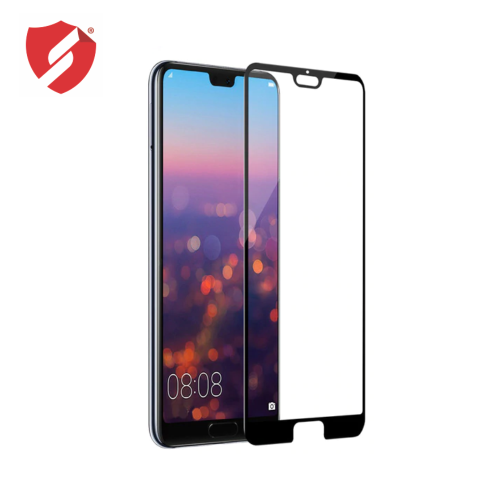 Tempered Glass - Ultra Smart Protection Huawei P20 Pro fulldisplay negru - Ultra Smart Protection Display + Clasic Smart Protection spate + laterale imagine