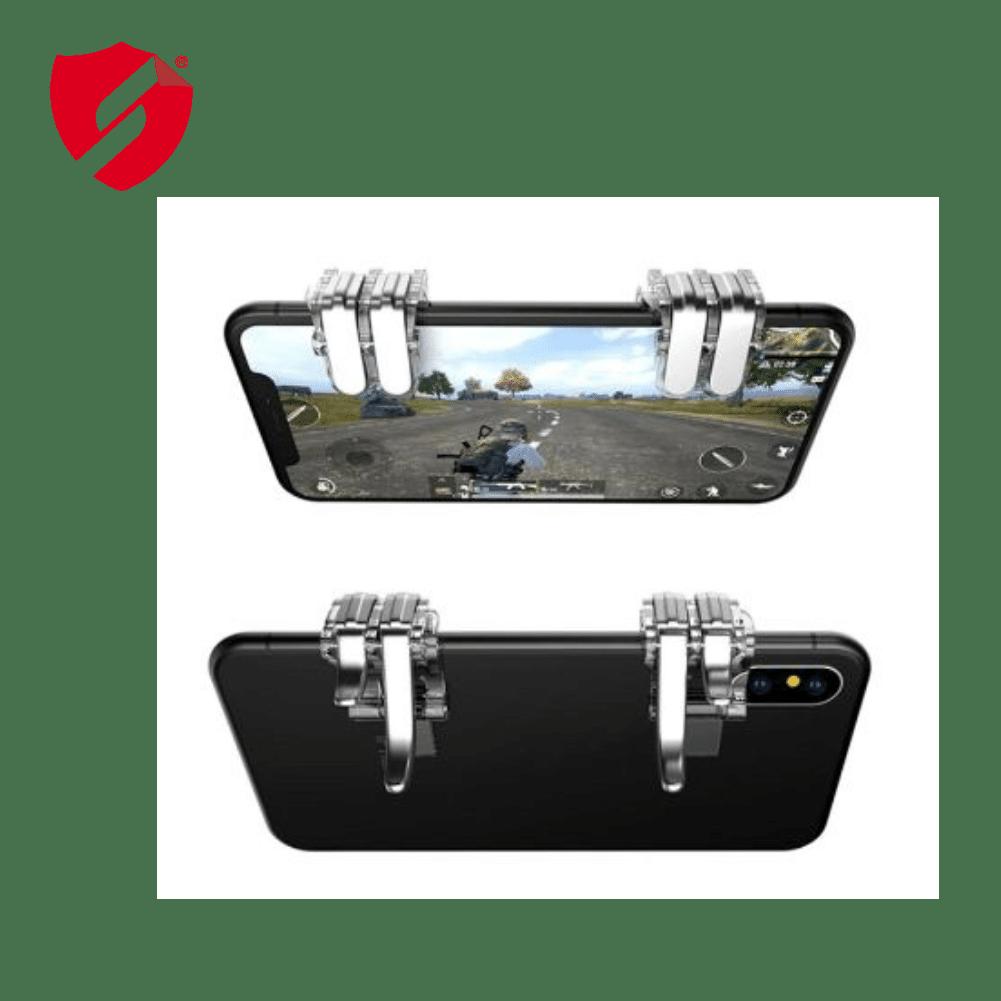 Butoane de gaming New Gen 4 functii pentru telefoane compatibile PUBG mobile imagine
