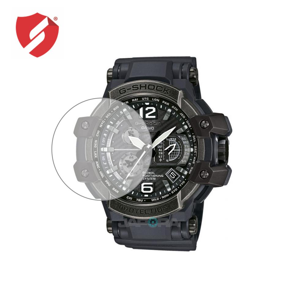 Folie de protectie Smart Protection Casio G-Shock GPW-1000V-1AER GRAVITYMASTER GPS HYBRID WAVECEPTOR - 2buc x folie display imagine
