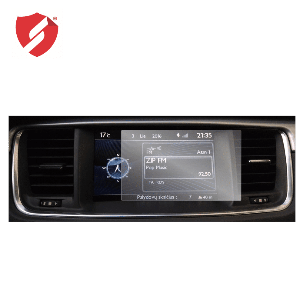Folie de protectie Smart Protection Navigatie Citroen - Peugeot model RT6, SMEG si NAC - 2buc x folie display imagine